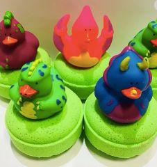 Dinosaur Duck Bath Bomb