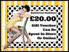 Bubblicious Bathtime - £20.00 Gift Voucher (Posted via Royal Mail)