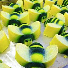 Bee Bee Bumbles Deluxe Fizzy Bath Bomb VEGAN