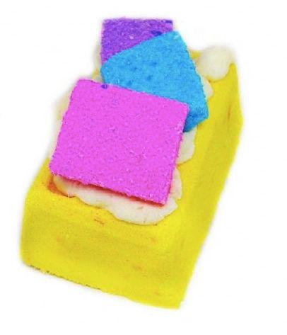 Marshmallow Salted Caramel Waffle Fizzy Bath Bomb VEGAN
