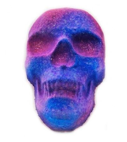 Twilight Blooms Fizzy Skull Bath Bomb VEGAN