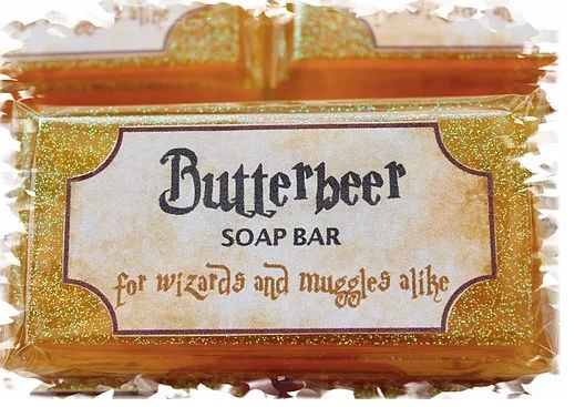 Butterbeer Soap Bars