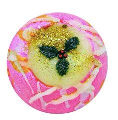 Christmas Pudding Fizzy Bath Bomb (Vegan)