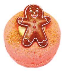 Ginger Spiced Toffee Fizzy Bath Donut (Vegan)