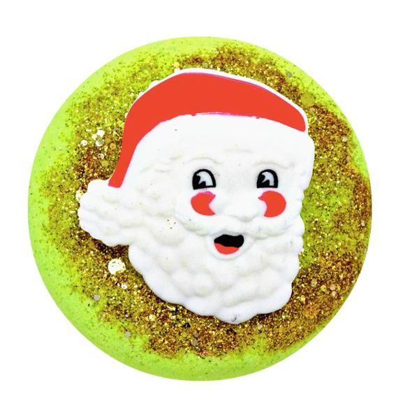 Santa's Cottage Fizzy Bath Donut (Vegan)