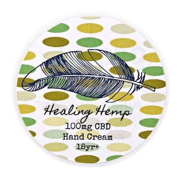 Healing Hemp 100mg Hand Cream