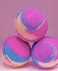 Baby Powder Rainbow Bath Bomb 🐰