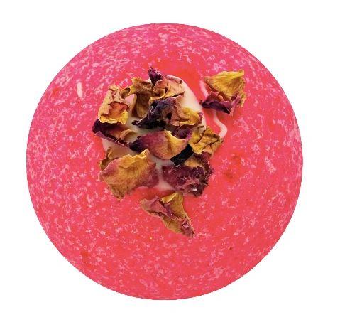 Damask Rose Fizzy Bath Bomb 💚🐰
