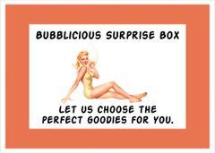 Bubblicious Surprise £15.00 Box (Including Postage)