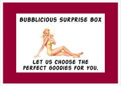 Bubblicious Surprise £20.00 Box (Including Postage)