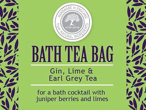 Gin And Lime Bath Tea Bag