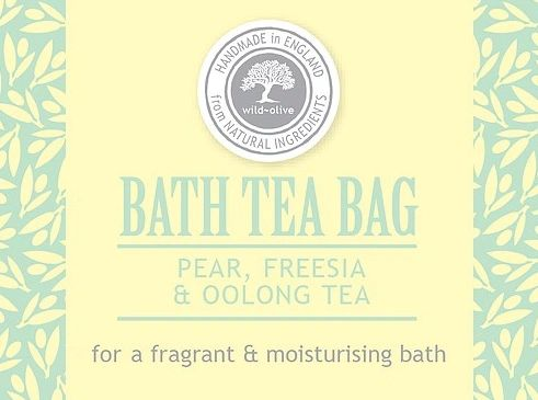 Pear, Freesia & Oolong Bath Tea Bag
