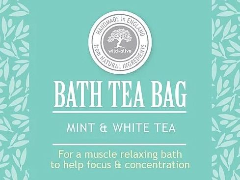 Mint & White Tea Bath Tea Bag