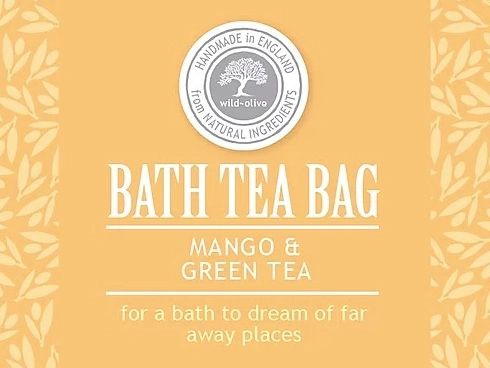 Mango & Green Tea Bath Tea Bag