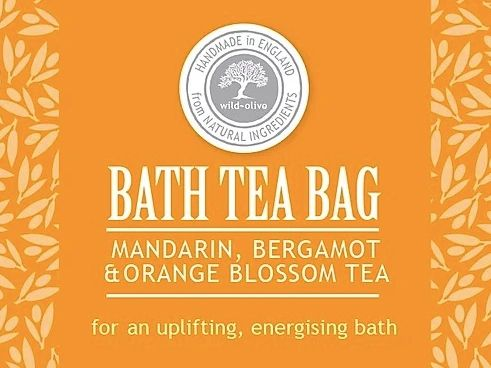 Mandarin, Bergamot & Orange Blossom Bath Tea Bag