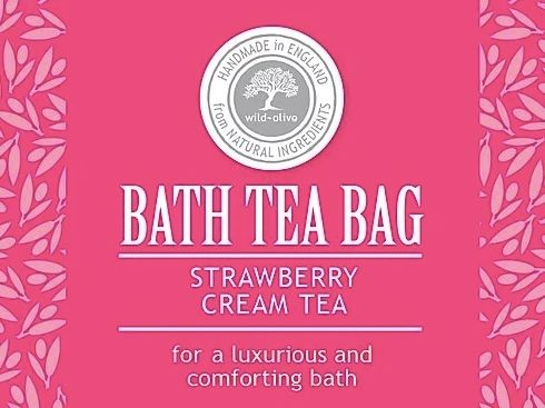 Strawberry and Cream Bath Tea Bag