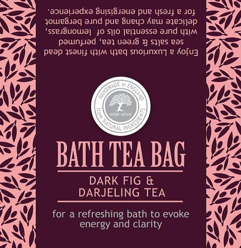 Dark Fig & Darjeeling Bath Tea Bag