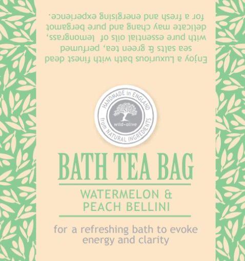 Watermelon & Peach Bellini Bath Tea Bag
