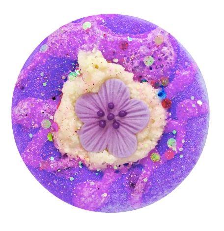 Dark Orchid Blossom Fizzy Bath Donut 💚