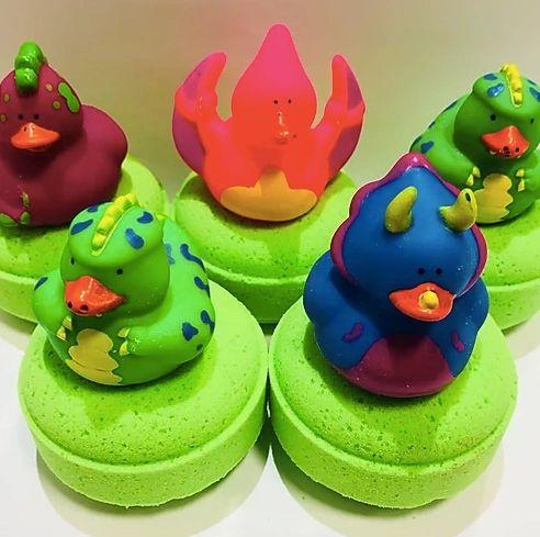 Dinosaur Duck Bath Bomb 🐰