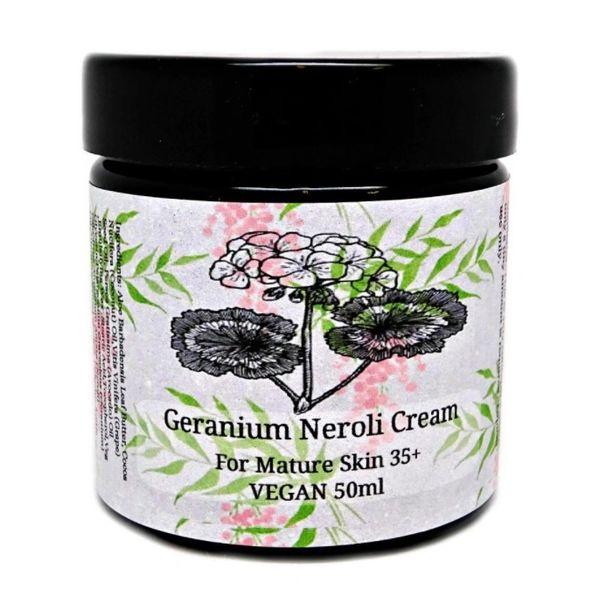 Geranium Neroli Cream for Mature Skin 💚🐰