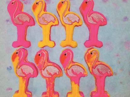 Florence the Flamingo Bath Bomb 🐰