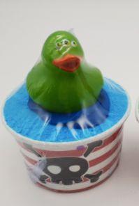 Boy's Duckie Bath Cup 💚🐰