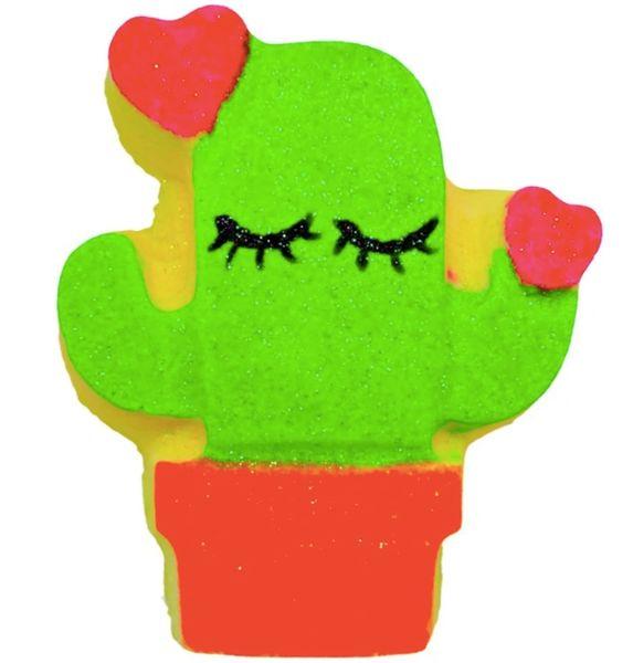 Cactus Flower Fizzy Bath Bomb 💚🐰