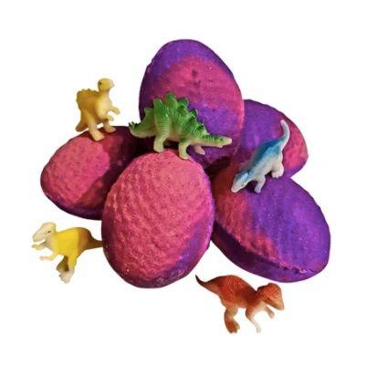 Dino Surprise Egg Bath Bomb 🐰