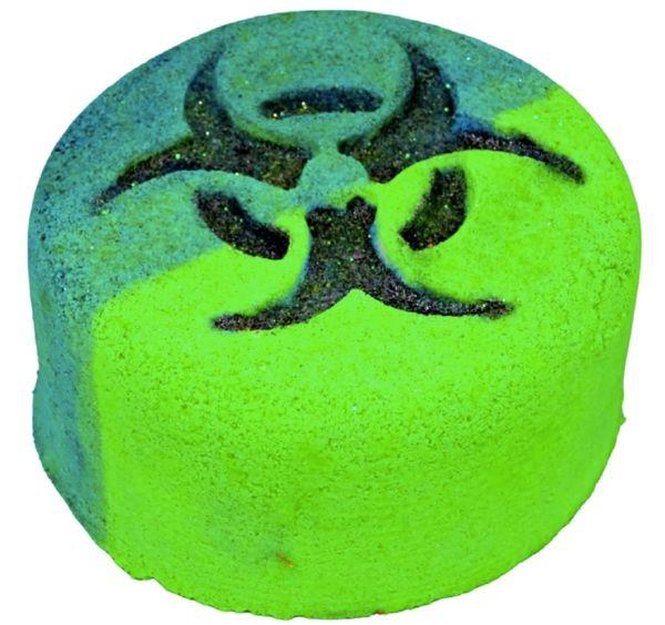Biohazard Blast Fizzy Bath Bomb 💚🐰