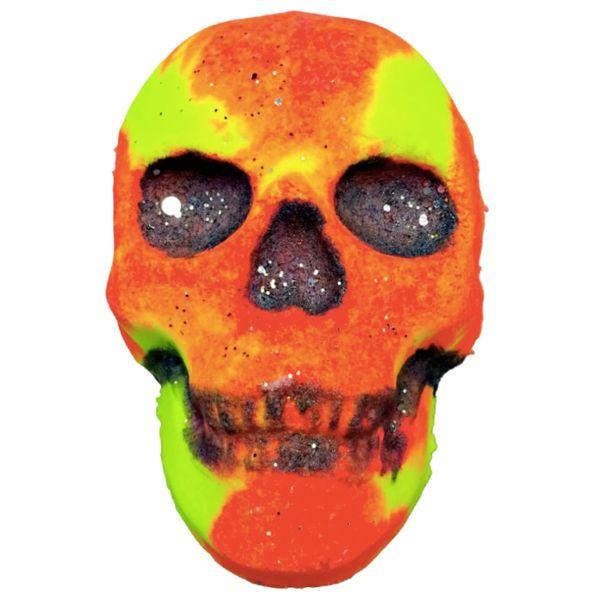Candy Corn Skull Bath Bomb 💚🐰