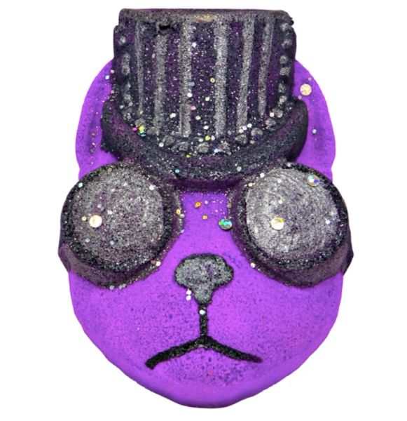 Sprocket Steampunk Kitty Fizzy Bath Bomb 💚🐰