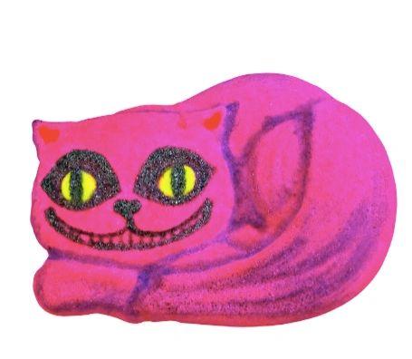 Cheshire Cat Grin Fizzy Bath Bomb