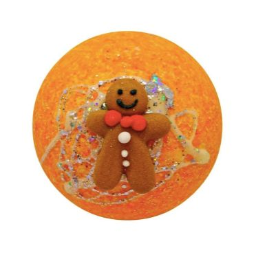 Gingerbread Cottage Fizzy Bath Bomb