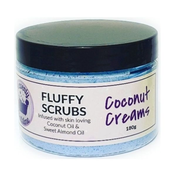 Coconut Creams Fluffy Scrub