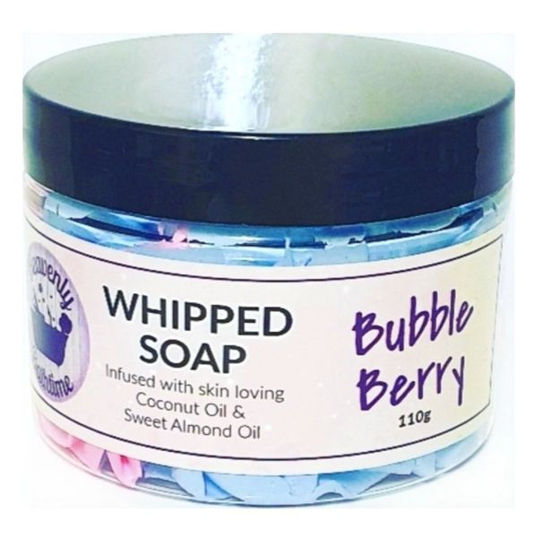 Bubble Berry Whipped Soap