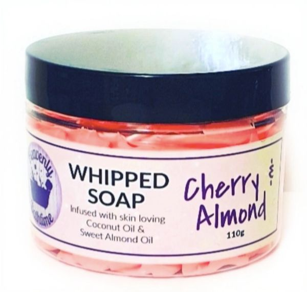 Cherry & Almond Whipped Soap