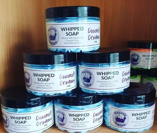 Coconut Creams Whipped Soap