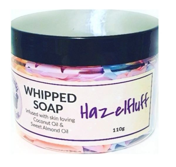 Hazelfluff Whipped Soap
