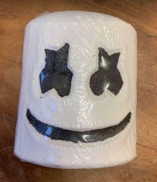 Marshmallow Face Bath Bomb