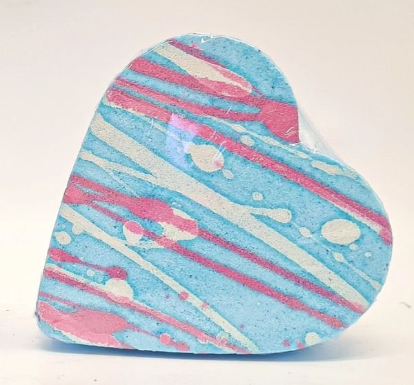 Baby Powder Heart Bath Bomb