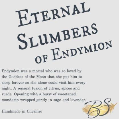 Eternal Slumbers Of Endymion Luxury Soy Wax Tart 30hr