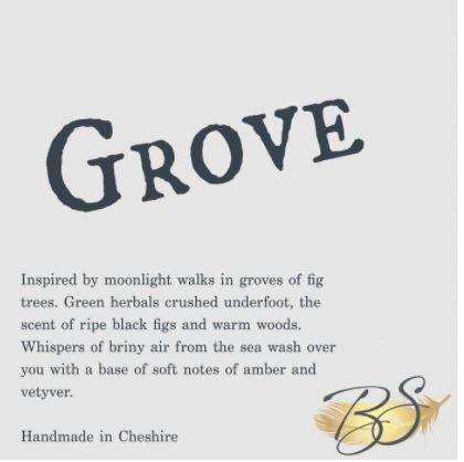 Grove Luxury Soy Wax Tart 30hr