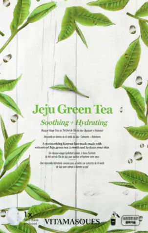 Vitamasques Juju Green Tea Sheet Face Mask