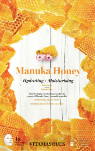 Vitamasques Manuka Honey Sheet Face Mask