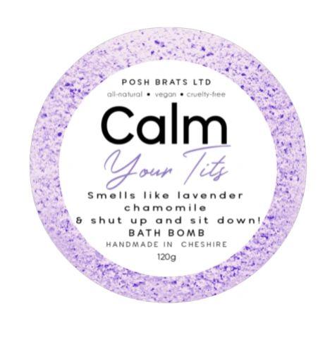 Calm Your T*ts Bath Bomb