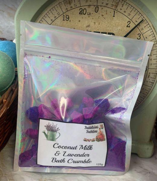 Coconut Milk & Lavender Bath Crumble