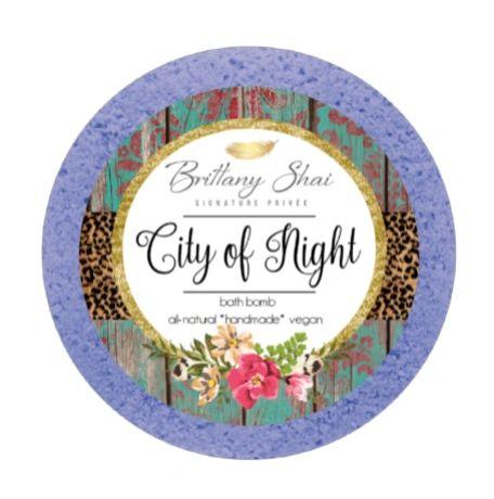 City of Night Luxury Bath Bomb