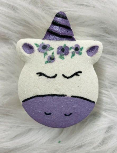 Parma Violet Unicorn Bath Bomb