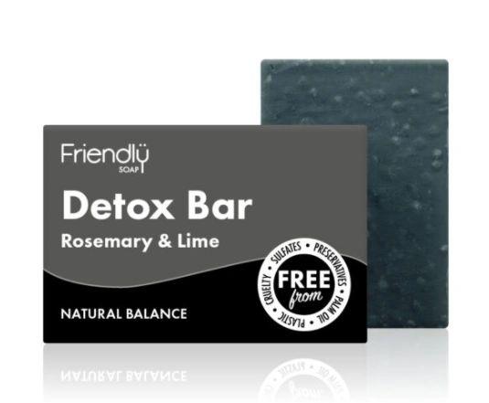 Friendly Soap - Charcoal Detox Bar